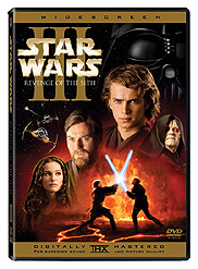 Star Wars Episode 3 DVD cover detail